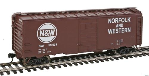 HO Gauge-Walthers Mainline-910-2358-Norfolk & Western #53538-40' PS-1 Box Car