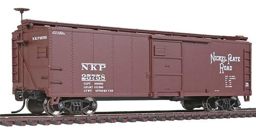HO Gauge-Walthers Mainline-910-1703-Nickel Plate Road #25758-40' X-29 Box Car