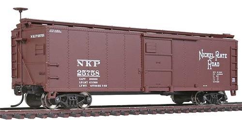 HO Gauge-Walthers Mainline-910-1703-Nickel Plate Road #25758-40' X-29 Box Car