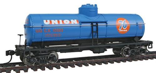 HO Gauge-Walthers Mainline-910-1016-Union 76-36' 10,000 Gallon Tank Car #10322