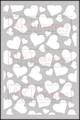 Hearts All Over - ARTplorations Stencil