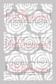 Old Rose Prints - ARTplorations Stencil