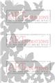 Shower of Flutters - ARTplorations Stencil