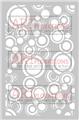 Retro Circles - ARTplorations Stencil