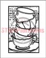 Framed Tea Cups