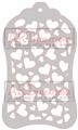Hearts All Over Mini - ARTplorations Stencil