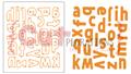Lowercase Alphabet Plate Die - CUTplorations