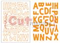 Uppercase Alphabet Plate Die - CUTplorations