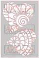Zen Hearts - ARTplorations Stencil