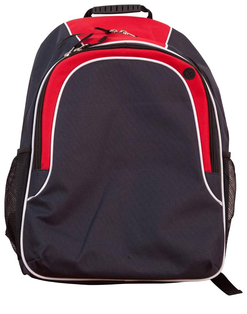 Backpack 16 Colours Laptop Organiser Pockets Sports School Bag   Winning Spirit B5020