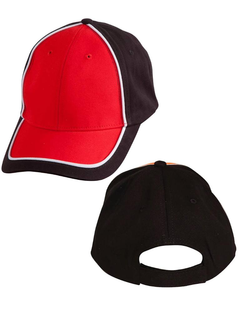 Arena Two Tone Cap 9 Colours  Winning Spirit CH78