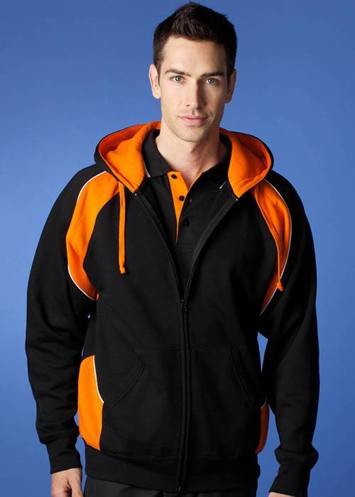 Panorama Full Zip Hoodie Jacket Mens 14 Tri Colours S-5XL  Aussie Pacific 1511