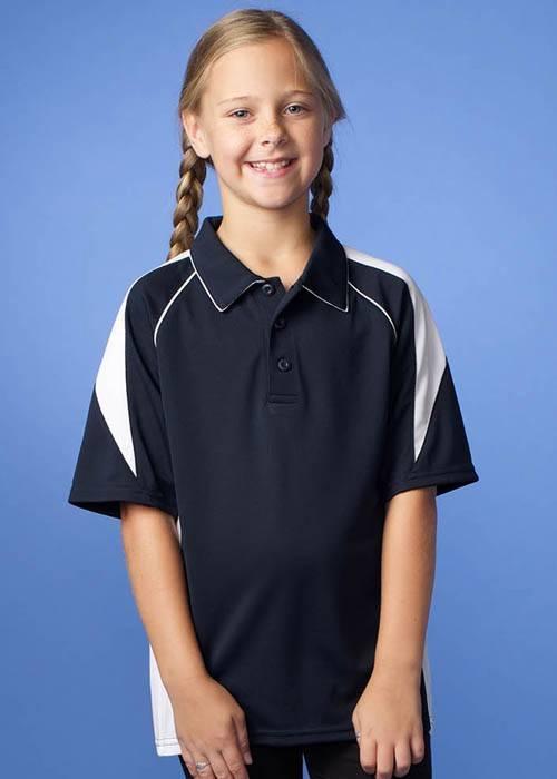Premier Kids 18 Colours DriWear Cool Knit Polo  6-16  Aussie Pacific