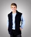 Polar Fleece Adults Unisex Full Zip Vest Black,Navy  XS-3XL  Blue Whale
