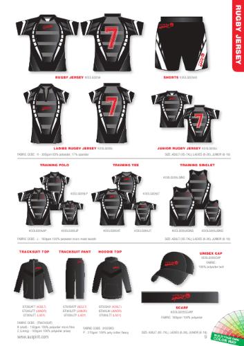 Rugby Teamwear Custom Made Jerseys training singlets,tees,polo's