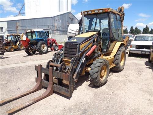 CAT CATERPILLAR 420 D IT LOADER BACKHOE 4X4 CAB AC THUMB EXTENDAHOE FARM RANCH