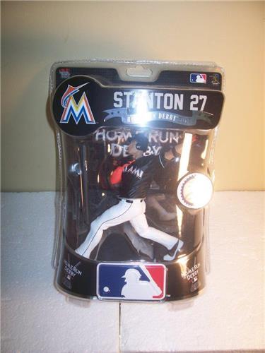 2017 Giancarlo Stanton Miami Marlins Imports Dragon Exclusive Baseball Figure
