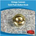 Caravan GOLD PUSH BUTTON KNOB