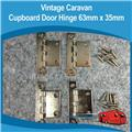 Caravan CUPBOARD DOOR HINGE 63MM X 35MM 4PIECE
