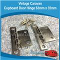 Caravan CUPBOARD DOOR HINGE 63MM X 35MM 2PIECE