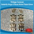 Caravan Butterfly Hinges Large  ( 4 )