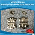 Caravan Butterfly Hinges Large  ( 2 )