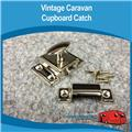 Caravan Cupboard Door Catch Chrome