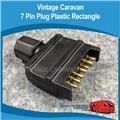 Caravan 7 Pin Plastic Flat Trailer Plug