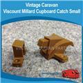 Caravan Cupboard Catch  Brown
