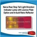Caravan  Stop Tail Indicator Licence plate  Retro Narva 12V 86470