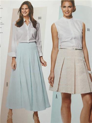 Burda Sewing Pattern 6803 Misses Ladies Skirt Size 10-20 New ...