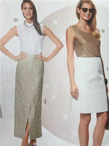 Burda Sewing Pattern 6804 Misses Ladies Skirt Size 10-20 New ...