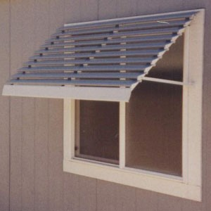 Louvered Aluminum Window Awnings Pictures