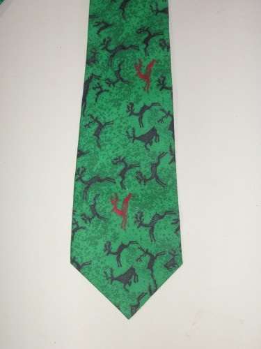 Men's Deer Necktie - Great for the Outdoorsman