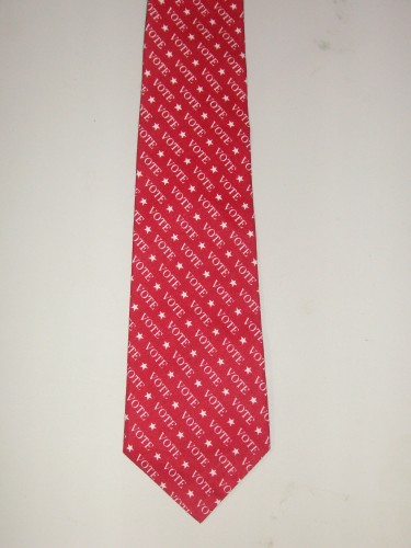 Men's Vote Necktie - Great for the Patriot