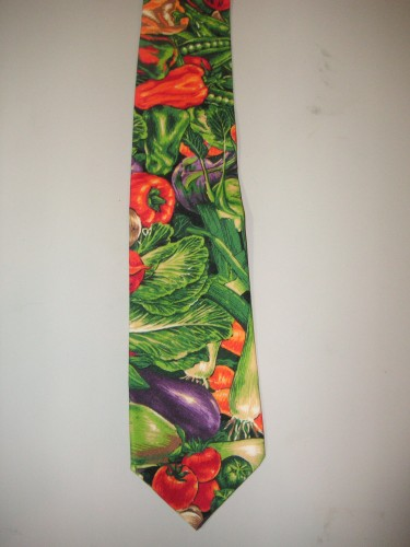 Men's Vegetable Necktie - Great for the Chef