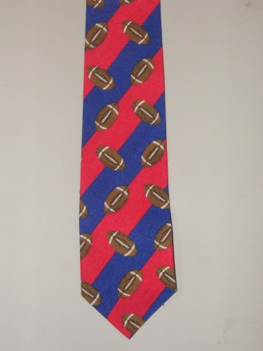 Men's football Necktie - Great for the footballl Fan