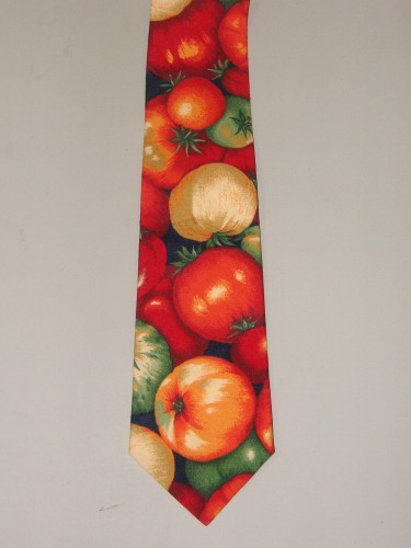 Men's Tomato Necktie - Great for the Chef