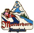 Disney DL- Attraction  Matterhorn Bobsleds  pin