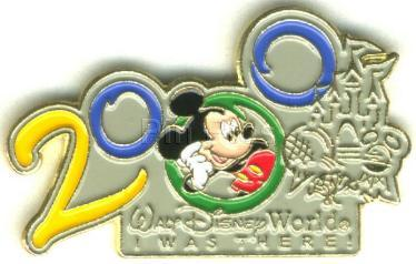 Disney  Mickey Mouse WDW 2000 Never Sold  Pin Pins