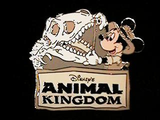 Disney  Mickey Paleontologist Animal Kingdom  Pin/Pins