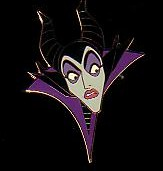 Disney Maleficent Startled Auction LE Pin/Pins