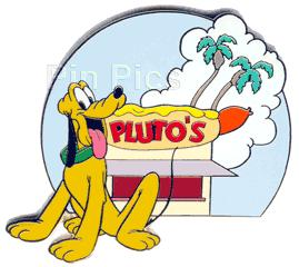 Disney Auctions (P.I.N.S.) - Pluto's Hot Dog Stand Pin