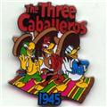 Disney Donald Duck  3 Caballeros 1945 dated  Pin/Pins