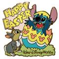 Disney Lilo & Stitch - Stitch & Thumper Easter Pin/Pins