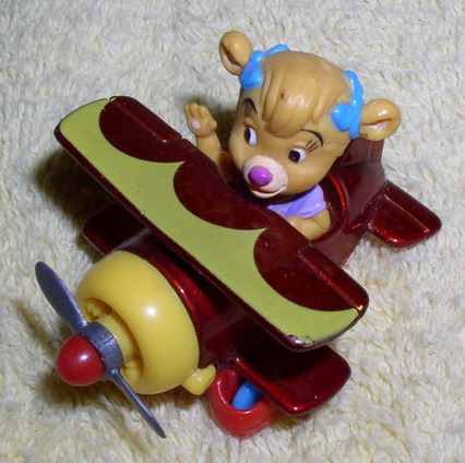 Disney Molly Air plane Pilot from Tail Spin Die Cast