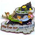 Disney Peter Pan Slider You Can Fly! Pin/Pins