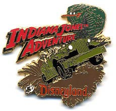 Disneyland Attraction Indiana Jones Adventure Pin/Pins