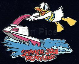 Disney DL Donald Duck Jet Skiing LE  Pin/Pins