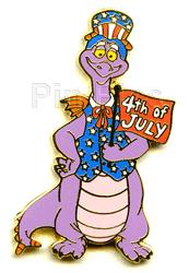 Disney  WDW - Figment dragon commemorate Pin/Pins